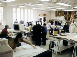 Atelier de couture Agnès b.