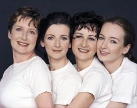 Valérie Lemercier et ses soeurs