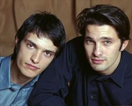 Vincent Martinez et son frère Olivier Martinez