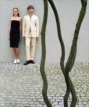 Mannequins habillés en Jil Sander