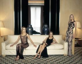 Mannequins habillées en Armani