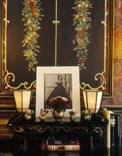Intérieur de la maison d'Emanuel Ungaro