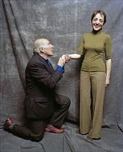 Michel Piccoli et Dominique Blanc