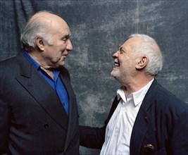 Michel Piccoli et Michel Serrault