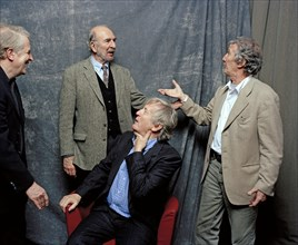 André Dussollier, Jean-Pierre Marielle, Daniel Cauchy, Claude Rich