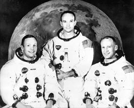 Neil Armstrong, Michael Collins et Edwin Aldrin