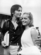 Alain Delon et Romy Schneider, 1968
