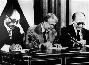 1979, signature des Accords de Camp David