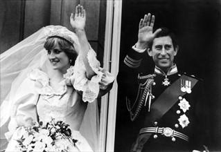 Mariage du Prince Charles et de Diana Spencer, 1981