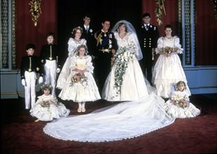 Mariage du prince Charles et de Lady Diana