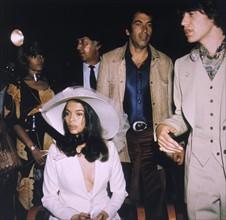 Mick et Bianca Jagger - mariage