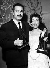 Georges Brassens et Gloria Lasso