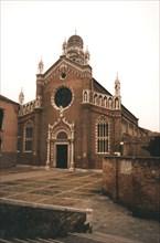 Madonna Dell'Orto church in Venice