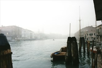 Venice, Canal Grande, wintertime