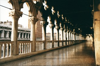 Loggia of the Ducal Palace in Venice