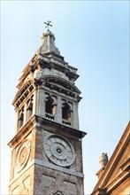 Church tower of Santa Maria Formosa church, in Venice