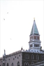 Dodge's Palace and the St Mark square's campanile