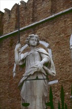 Venice, detail of the Arsenal