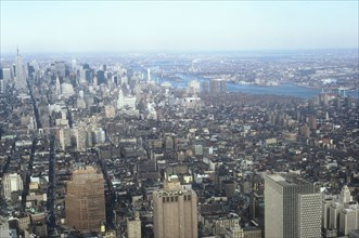 Overall view of Manhattan