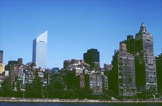 East River, Midtown and Citycorp building