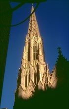 Night view, St. Patrick's Cathedral