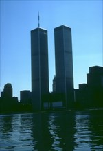 Overall view of the World Trade Center