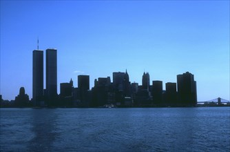Overall view of the World Trade Center, Manhattan