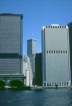 View of the World Trade Center, Manhattan