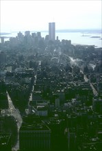View of the World Trade Center from the Empire State Building Observatory, Manhattan