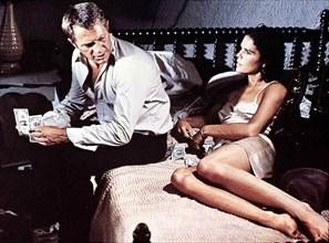 Getaway  Getaway,  Steve McQueen, Ali McGraw Mit Hilfe eines korrupten Geschaeftsmannes sorgt Carol (Ali McGraw) dafuer, dass