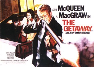 RELEASE DATE: December 13, 1972. MOVIE TITLE: The Getaway. STUDIO: Solar Productions. PLOT: Doc McCoy has been granted parole. The catch is that Sheriff Beynon expects a small favor from McCoy for his...