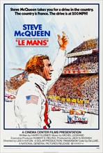 Le Mans (1971) directed by Lee H. Katzin and starring Steve McQueen, Siegfried Rauch and Elga Andersen. McQueen plays American Michael Delaney in Gulf Team Porsche 917 in a duel with German Erich Stah...