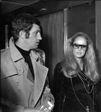 Ursula Andress et Jean-Paul Belmondo, 1968