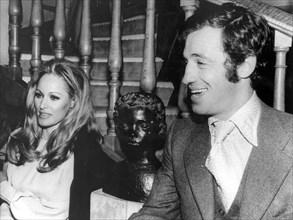 Ursula Andress et Jean-Paul Belmondo, 1970