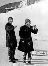 Ursula Andress et Jean-Paul Belmondo, 1967