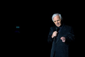 Charles Aznavour sur scène, 2014
