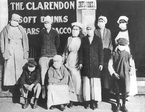 Protection contre la grippe espagnole, 1918