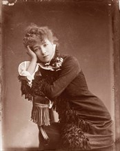 Sarah Bernhardt in 1878 (1844-1923). Henriette Rosine Bernard. French actress