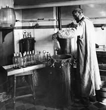 Chemist Louis Pasteur, France