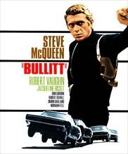 STEVE MCQUEEN POSTER BULLITT (1968)