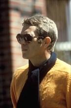 "Studio Publicity Still from ""Bullitt"" Steve McQueen 1968 Warner / Seven Arts   File Reference # 31537_544THA"