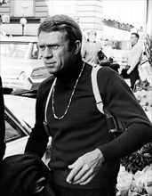 "Studio Publicity Still from ""Bullitt"" Steve McQueen 1968 Warner / Seven Arts   File Reference # 31537_557THA"