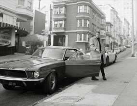 "Studio Publicity Still from ""Bullitt"" Steve McQueen 1968 Warner / Seven Arts   File Reference # 31537_560THA"