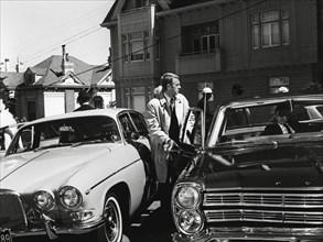 "Studio Publicity Still from ""Bullitt"" Steve McQueen 1968 Warner / Seven Arts   File Reference # 31537_562THA"
