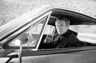 "Studio Publicity Still from ""Bullitt"" Steve McQueen 1968 Warner / Seven Arts   File Reference # 31537_564THA"