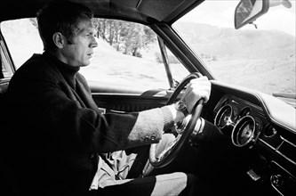 "Studio Publicity Still from ""Bullitt"" Steve McQueen 1968 Warner / Seven Arts   File Reference # 31537_565THA"