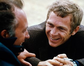 "Director Peter Yates, Steve McQueen , ""Bullitt"", 1968 Solar Productions    .   File Reference # 32557_429THA"