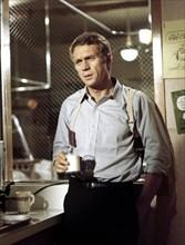 """Studio Publicity Still from """"Bullitt""""Steve McQueen(1968) Warner Bros.-Seven Arts"""