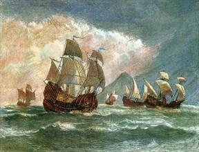 Ferdinand Magellan Fleet, 1519