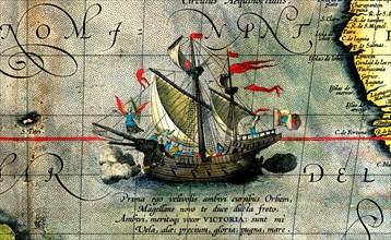 Ferdinand Magellan's ship Victoria